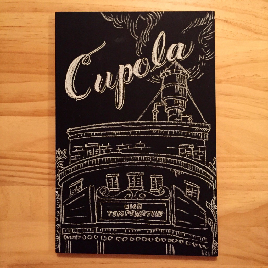"chalk lettering ""cupola"""